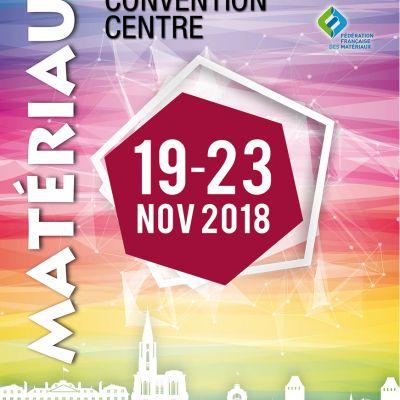Matériaux 2018 – Strasbourg (19-23 novembre 2018)
